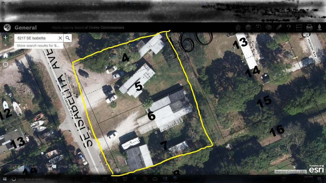 Mobile / Fabricant pour l Vente à 5197 SE Isabelita Avenue 5197 SE Isabelita Avenue Stuart, Florida 34997 États-Unis