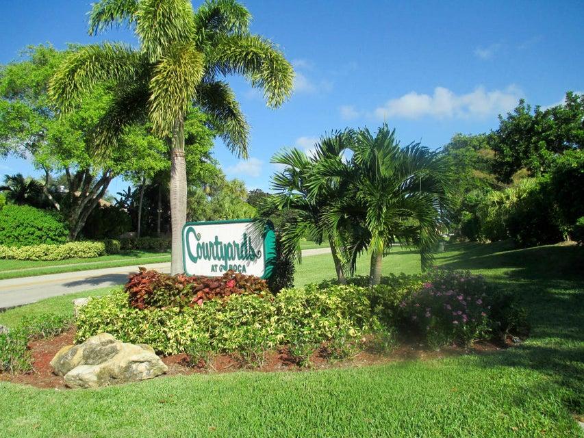Casa unifamiliar adosada (Townhouse) por un Alquiler en 7540 Courtyard Run E 7540 Courtyard Run E Boca Raton, Florida 33433 Estados Unidos