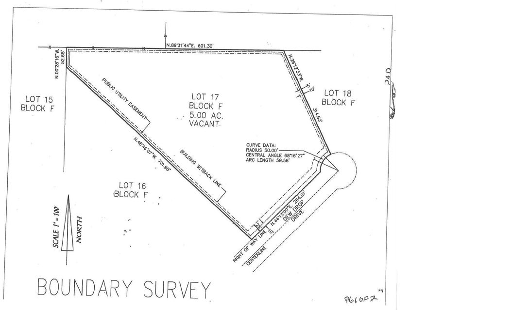 Land for Sale at 238 Dew Drop Drive 238 Dew Drop Drive Hawthorne, Florida 32640 United States