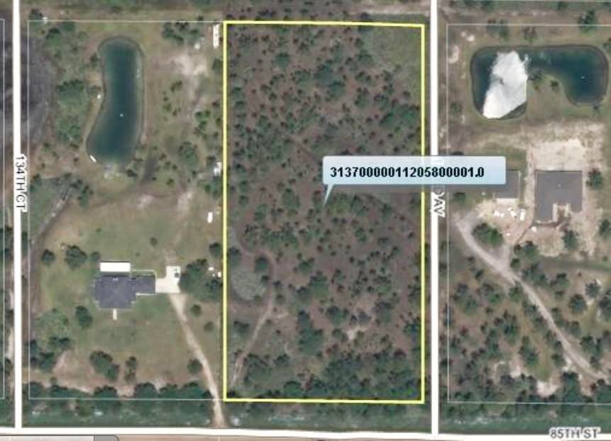 Land for Sale at 13310 85th Street 13310 85th Street Fellsmere, Florida 32948 United States