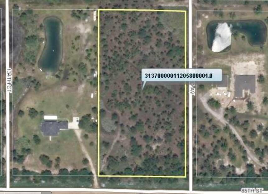 أراضي للـ Sale في 13310 85th Street 13310 85th Street Fellsmere, Florida 32948 United States