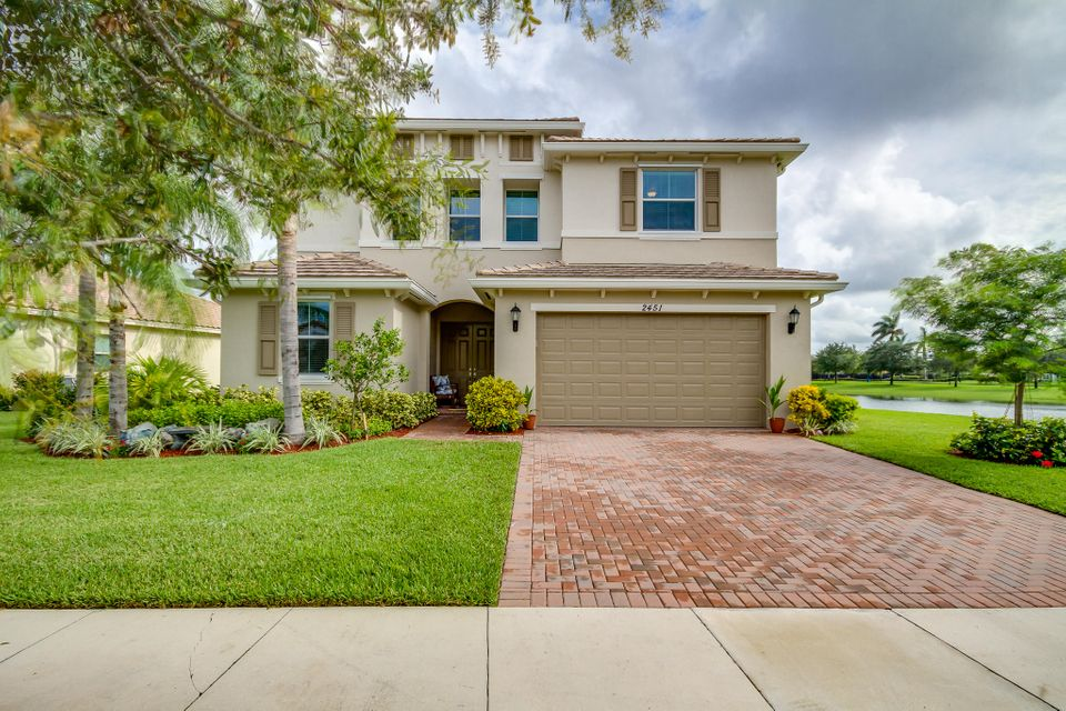 Single Family Home for Sale at 2451 Bellarosa Circle 2451 Bellarosa Circle Royal Palm Beach, Florida 33411 United States
