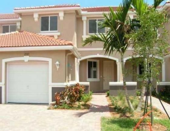 Townhouse for Rent at 2158 Oakmont Drive 2158 Oakmont Drive Riviera Beach, Florida 33404 United States