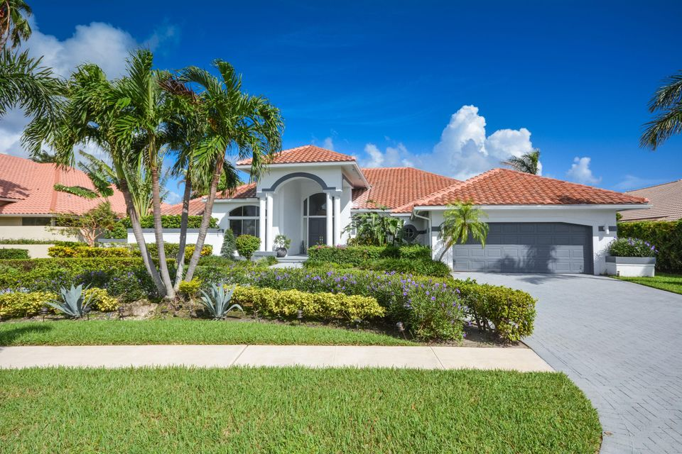Single Family Home for Sale at 4172 Bocaire Boulevard 4172 Bocaire Boulevard Boca Raton, Florida 33487 United States
