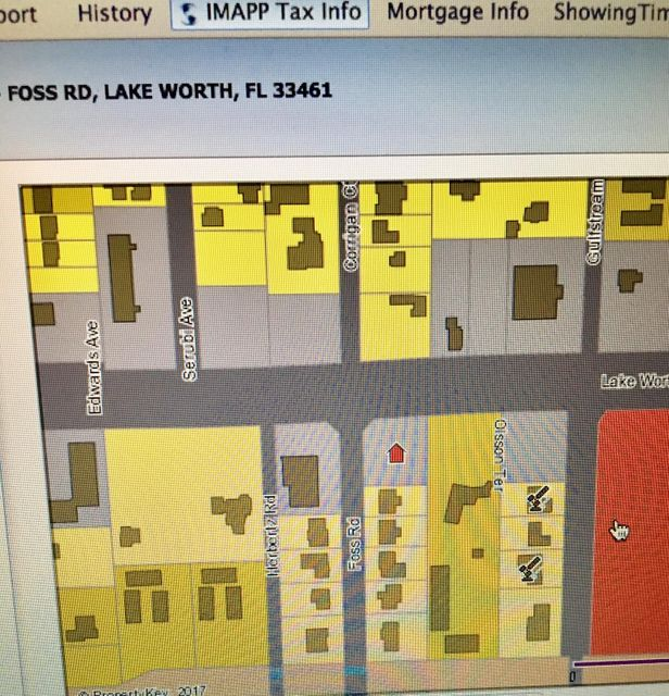 Commercial Land for Sale at - Foss Road - Foss Road Lake Worth, Florida 33461 United States