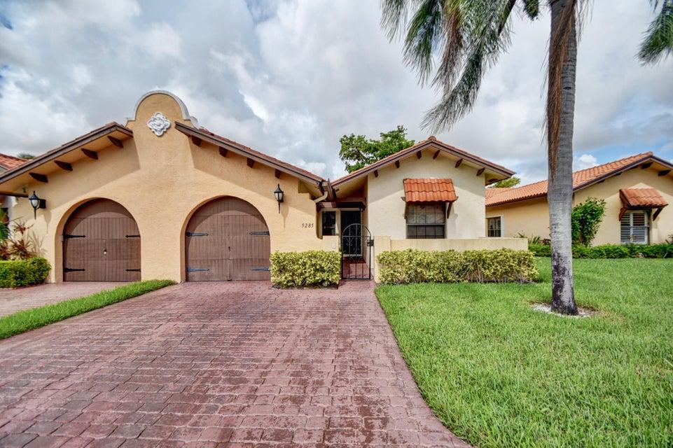 Villa for Sale at 5285 Bolero Circle 5285 Bolero Circle Delray Beach, Florida 33484 United States