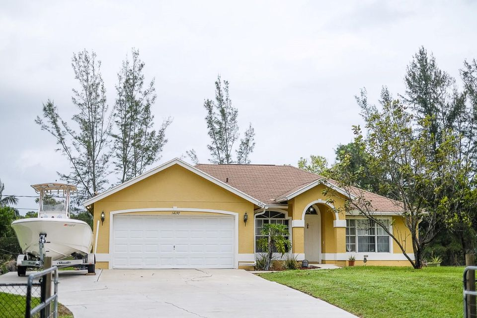 Single Family Home for Sale at 14197 77th Place N 14197 77th Place N Loxahatchee, Florida 33470 United States