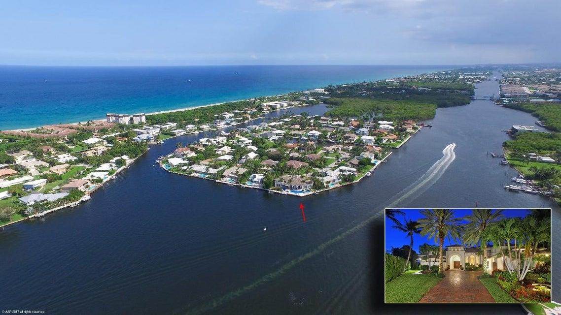 Casa Unifamiliar por un Venta en 53 Spanish River Drive 53 Spanish River Drive Ocean Ridge, Florida 33435 Estados Unidos