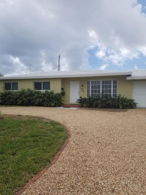 Single Family Home for Rent at 122 Arlington Place 122 Arlington Place West Palm Beach, Florida 33405 United States