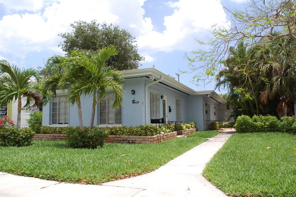 Quadraplex 为 销售 在 214 Palmway 214 Palmway Lake Worth, 佛罗里达州 33460 美国