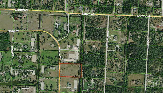 Agricultural Land pour l Vente à 3384 Hanover Circle 3384 Hanover Circle Loxahatchee, Florida 33470 États-Unis