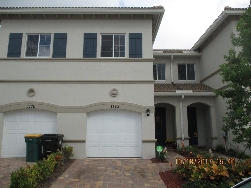 Townhouse for Sale at 1172 Sepia Lane 1172 Sepia Lane Lake Worth, Florida 33461 United States