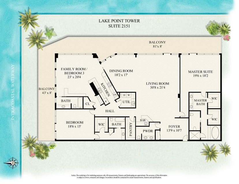 LAKE POINT TOWER NORTH PALM BEACH FLORIDA