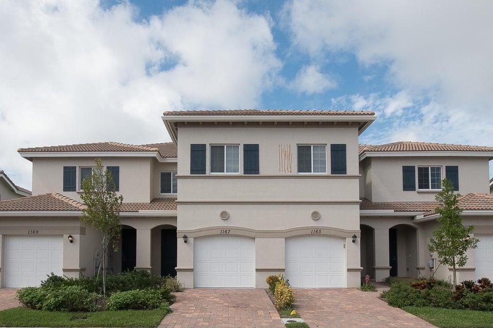 Stadthaus für Verkauf beim 1167 Sepia Lane 1167 Sepia Lane Lake Worth, Florida 33461 Vereinigte Staaten