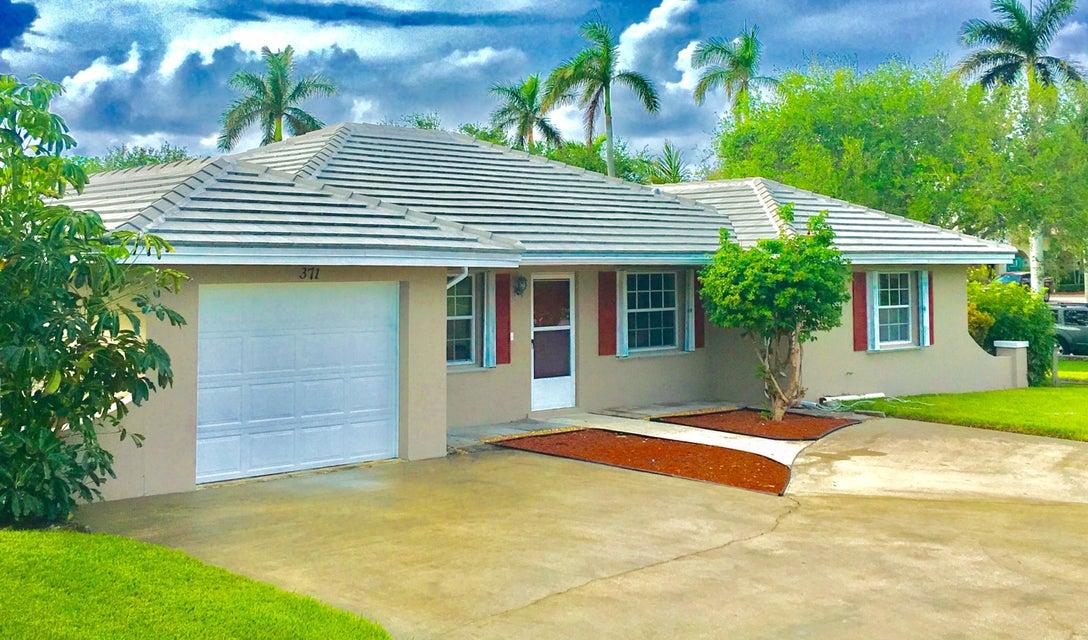 Casa Unifamiliar por un Venta en 371 Venus Avenue 371 Venus Avenue Tequesta, Florida 33469 Estados Unidos