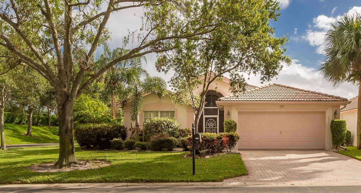 VALENCIA LAKES home 7526 Citronella Street Boynton Beach FL 33437