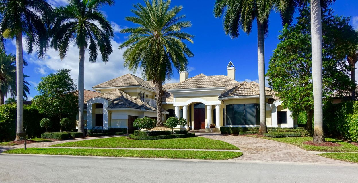 Single Family Home for Sale at 4451 Bocaire Boulevard 4451 Bocaire Boulevard Boca Raton, Florida 33487 United States