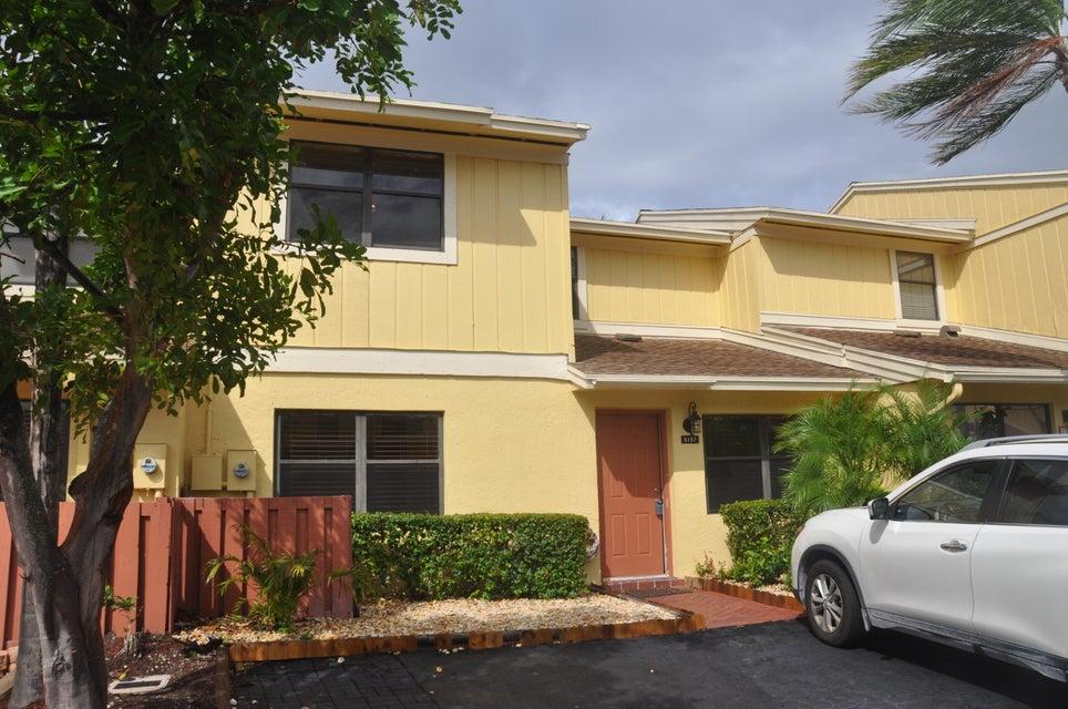 Townhouse for Sale at 5187 Tennis Lane 5187 Tennis Lane Delray Beach, Florida 33484 United States