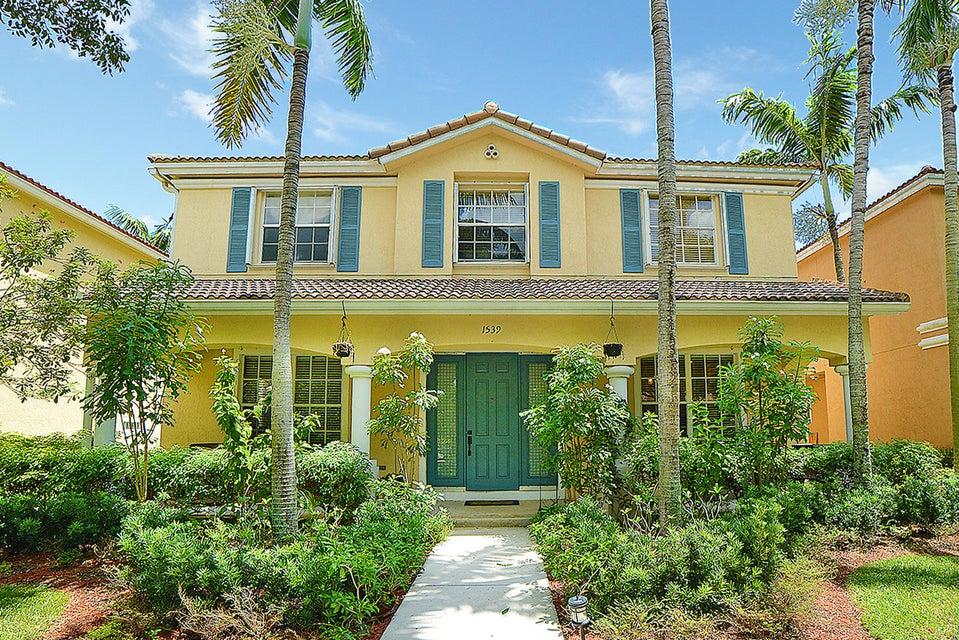 واحد منزل الأسرة للـ Sale في 1539 Fenton Drive 1539 Fenton Drive Delray Beach, Florida 33445 United States