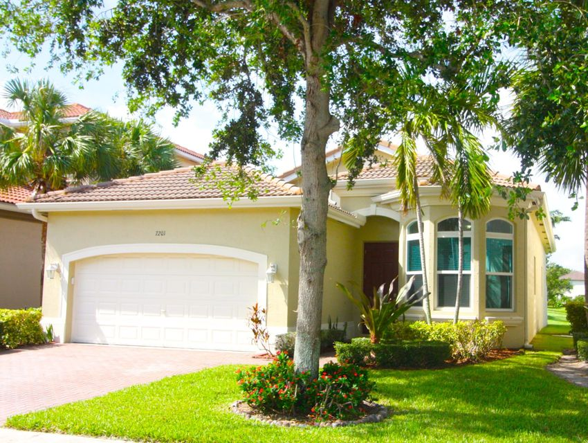 Maison unifamiliale pour l Vente à 7201 Shady Grove Lane 7201 Shady Grove Lane Boynton Beach, Florida 33436 États-Unis