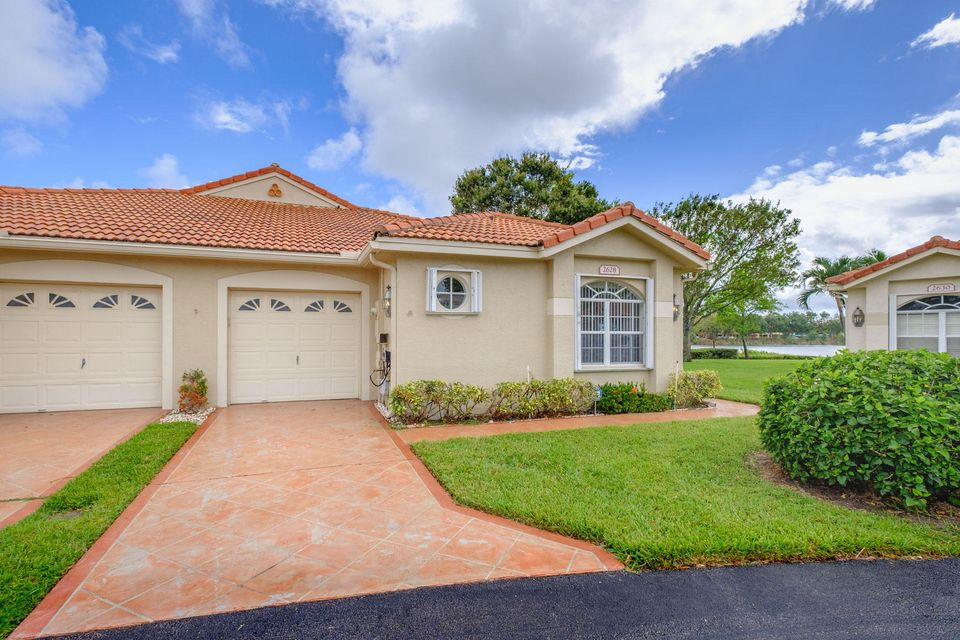 Villa for Sale at 2628 Crabapple Circle 2628 Crabapple Circle Boynton Beach, Florida 33436 United States
