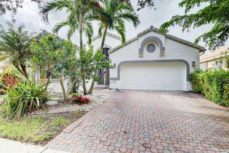 The Club at Indian Lakes home 10398 Copper Lake Drive Boynton Beach FL 33437