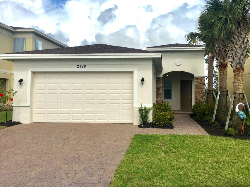 Rentals for Sale at 2415 NW Padova Street 2415 NW Padova Street Port St. Lucie, Florida 34986 United States