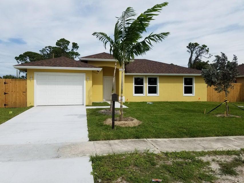 Casa para uma família para Venda às 4858 Bowman Street 4858 Bowman Street Greenacres, Florida 33463 Estados Unidos