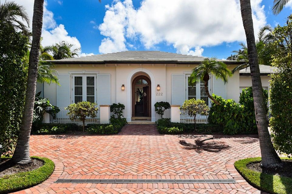 222 Plantation Road  Palm Beach FL 33480