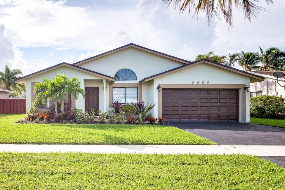 Single Family Home for Sale at 9986 NW 52nd Street 9986 NW 52nd Street Sunrise, Florida 33351 United States