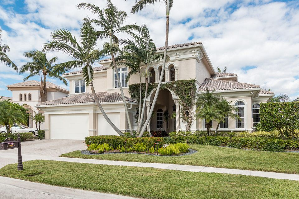 Single Family Home for Sale at 7661 Playa Rienta Way Delray Beach, Florida 33446 United States