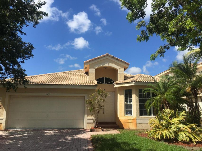 Single Family Home for Sale at 2472 SW 156th Avenue 2472 SW 156th Avenue Miramar, Florida 33027 United States