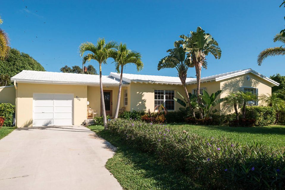 Single Family Home for Rent at 225 Potter Road 225 Potter Road West Palm Beach, Florida 33405 United States