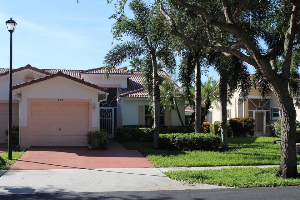 Villa por un Alquiler en 103 Sausalito Drive 103 Sausalito Drive Boynton Beach, Florida 33436 Estados Unidos