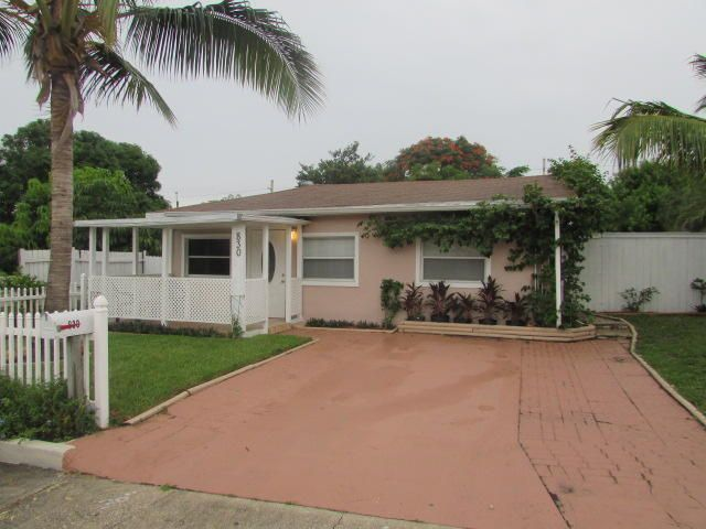 830 Briggs Street West Palm Beach, FL 33405 - MLS #: RX-10377839