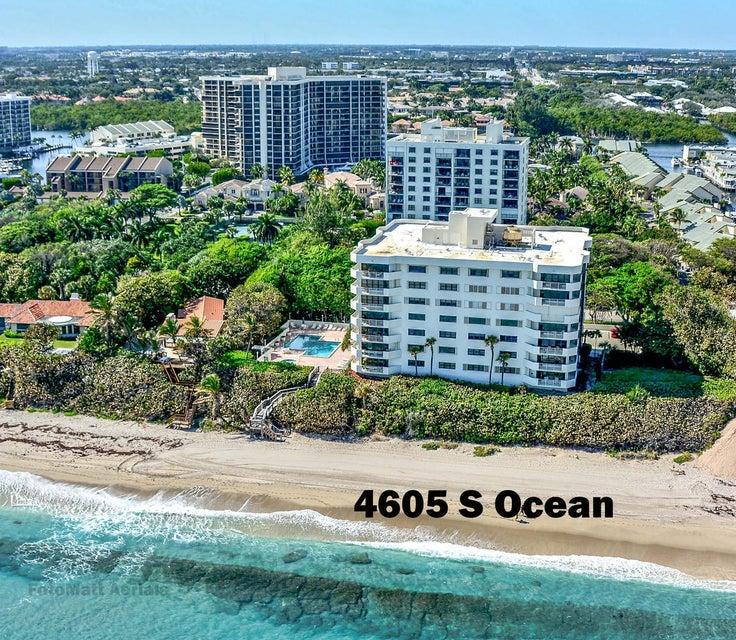 Konsum / Eigentumswohnung für Verkauf beim 4605 S Ocean Boulevard 4605 S Ocean Boulevard Highland Beach, Florida 33487 Vereinigte Staaten