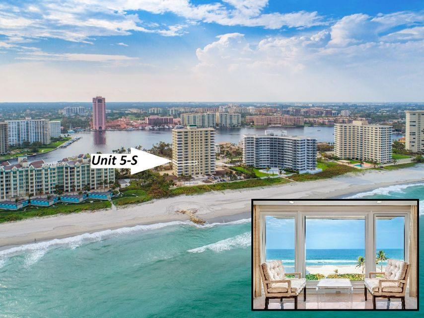 750 S Ocean Boulevard 5-S  Boca Raton FL 33432