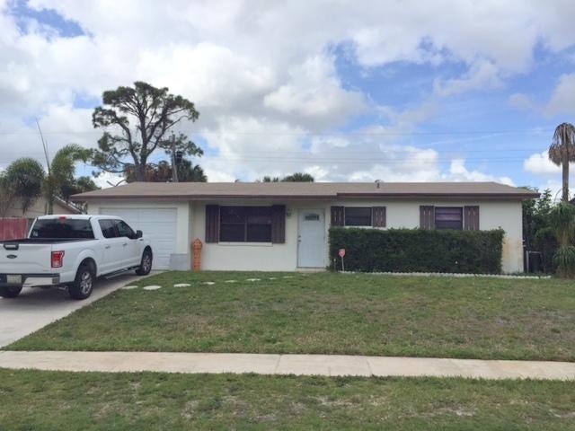 Maison unifamiliale pour l Vente à 1389 Meadowbrook Drive 1389 Meadowbrook Drive West Palm Beach, Florida 33417 États-Unis