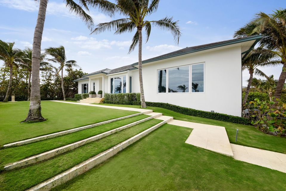Single Family Home for Sale at 1214 N Ocean Boulevard 1214 N Ocean Boulevard Palm Beach, Florida 33480 United States