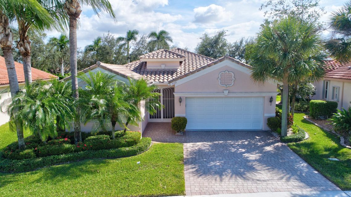Bellaggio home 9789 Mantova Drive Lake Worth FL 33467