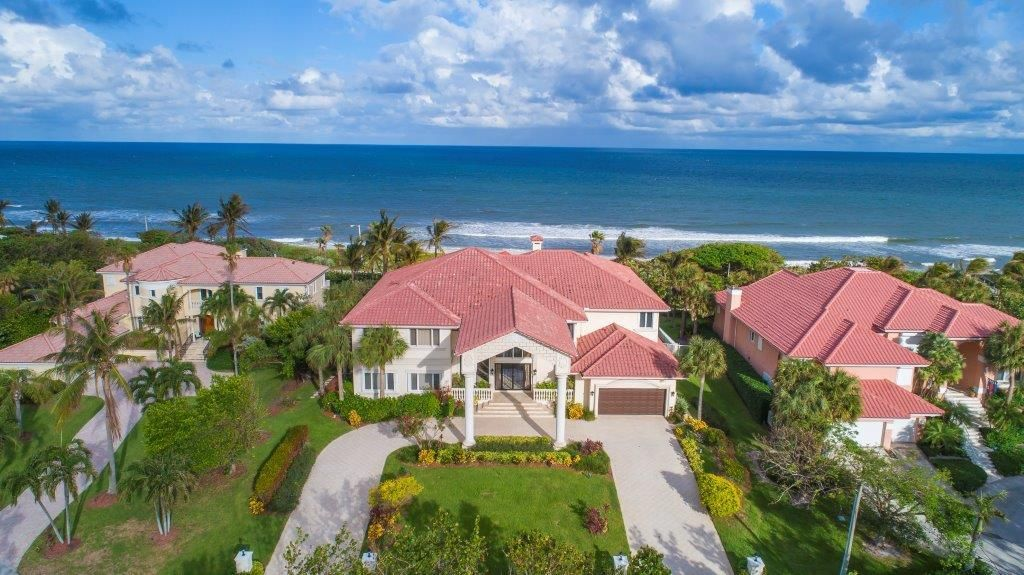Single Family Home for Sale at 5516 Old Ocean Boulevard 5516 Old Ocean Boulevard Ocean Ridge, Florida 33435 United States