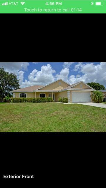 Alquiler por un Alquiler en 362 NW Dearman Street 362 NW Dearman Street St. Lucie West, Florida 34983 Estados Unidos