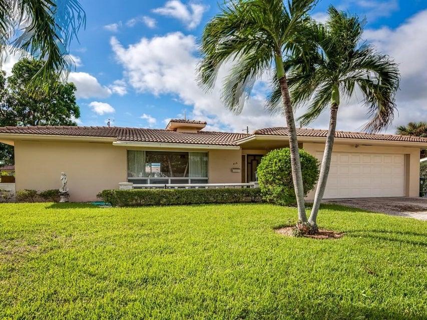 Einfamilienhaus für Verkauf beim 416 NE 33rd Street 416 NE 33rd Street Boca Raton, Florida 33431 Vereinigte Staaten