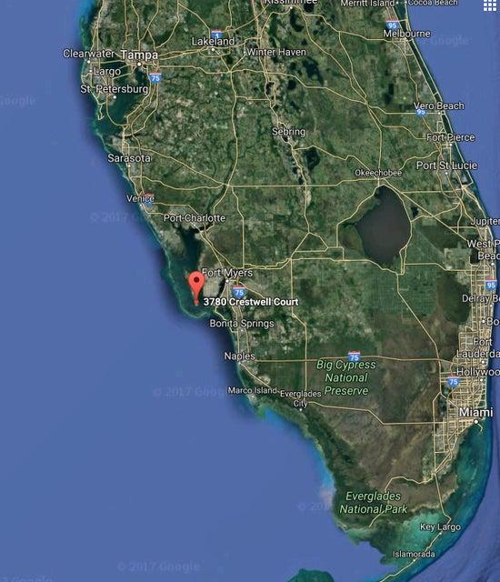 Terreno por un Venta en 3780 Crestwell Court 3780 Crestwell Court St. James City, Florida 33956 Estados Unidos