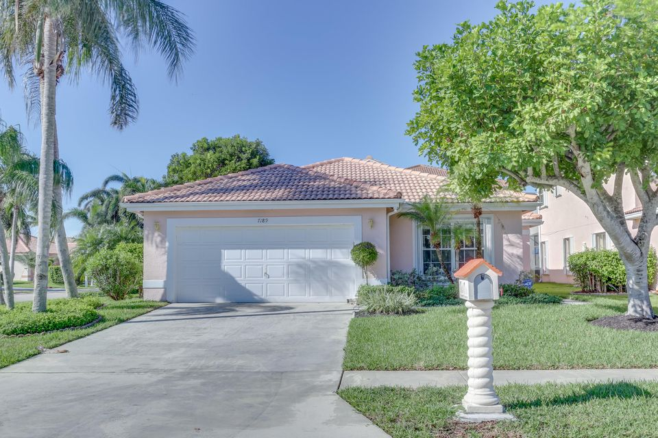 Home for sale in Lake Charleston - Bristol Bay Lake Worth Florida