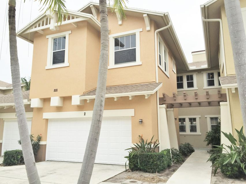 Townhouse for Rent at 881 Marina Del Ray Lane 881 Marina Del Ray Lane West Palm Beach, Florida 33401 United States