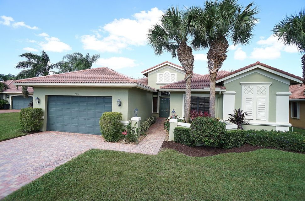 TIVOLI LAKES PUD home 7036 Antinori Lane Boynton Beach FL 33437