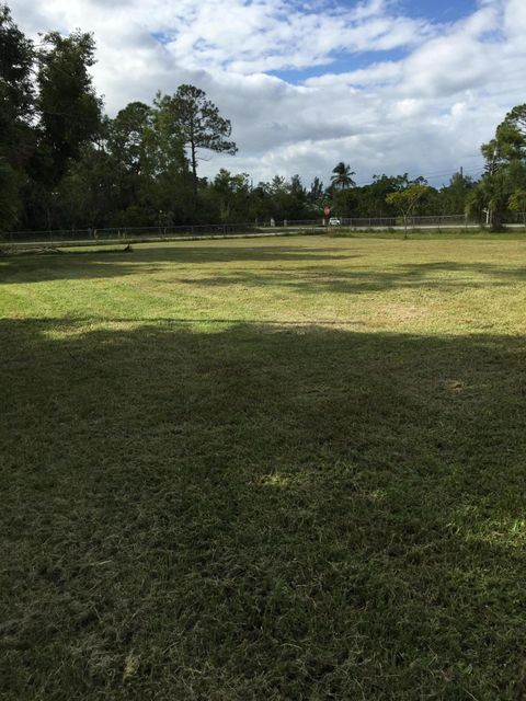 Agricultural Land por un Venta en 4960 129th Avenue N 4960 129th Avenue N West Palm Beach, Florida 33411 Estados Unidos