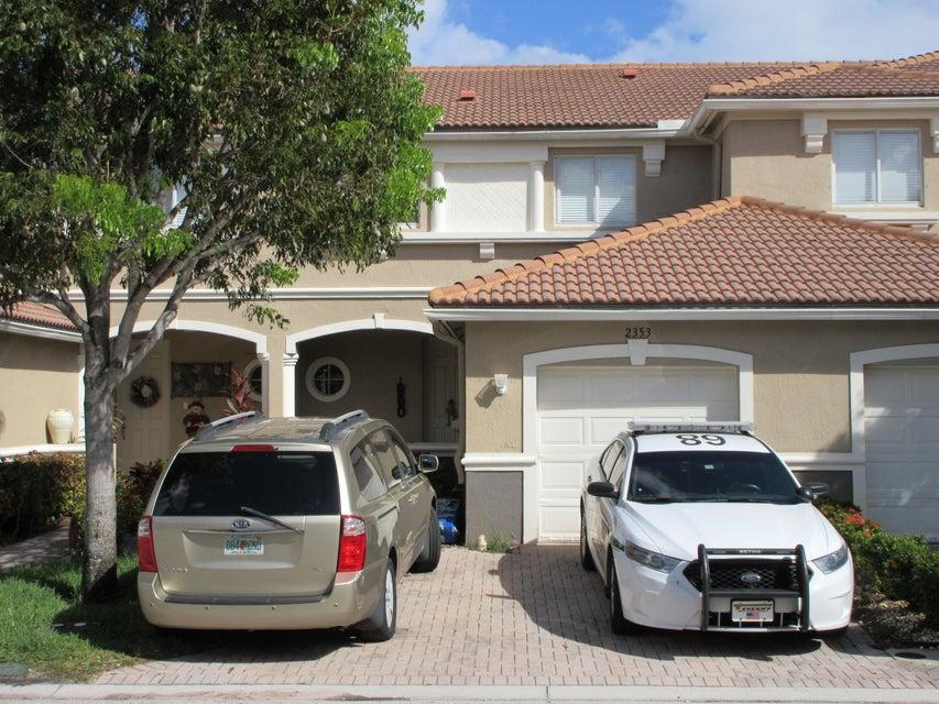 Casa unifamiliar adosada (Townhouse) por un Venta en 2353 Center Stone Lane 2353 Center Stone Lane Riviera Beach, Florida 33404 Estados Unidos