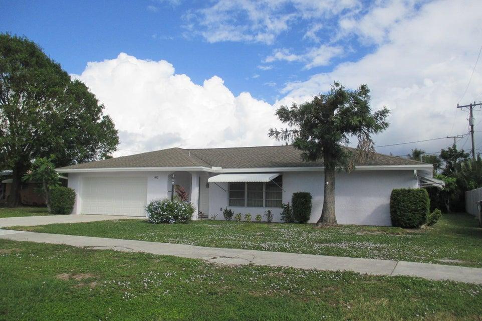 Home for sale in Lake Osborne Manor Lake Worth Florida
